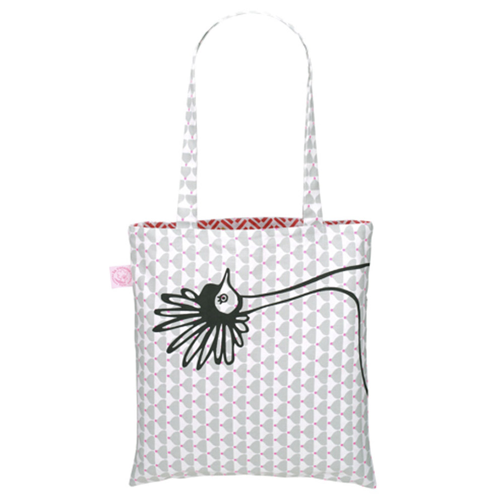Chic Chick Grey Eco Bag